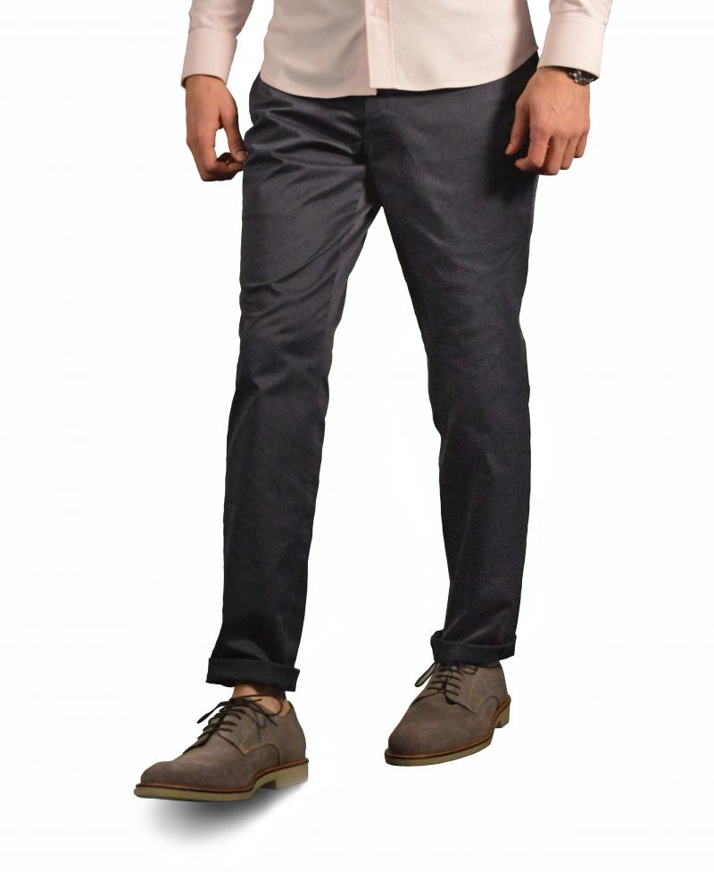 Navy Washed Chino