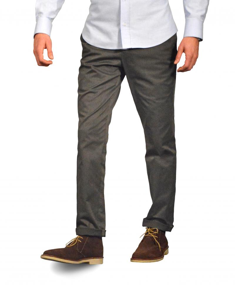 Grey Washed Chino