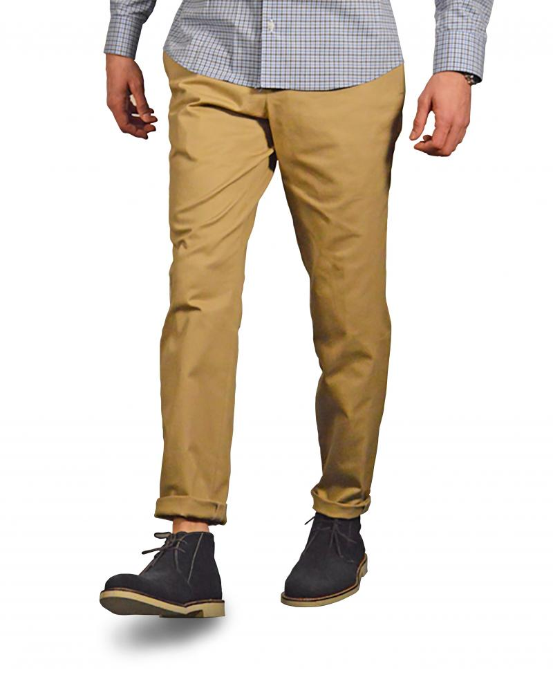 Khaki Washed Chino