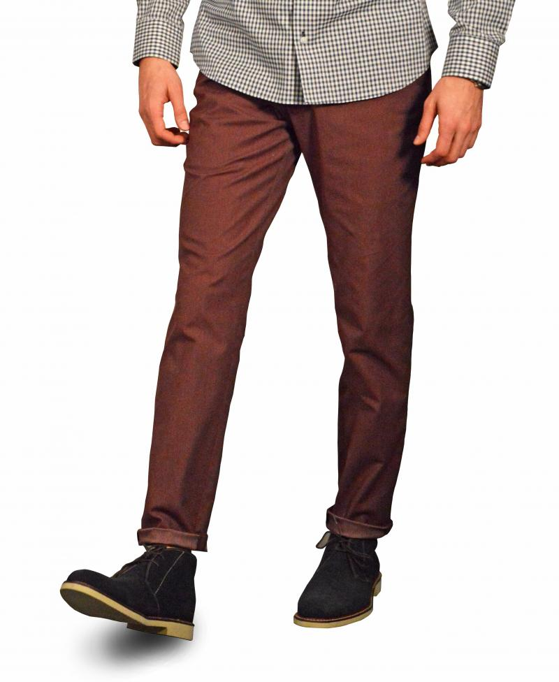 Red Washed Chino